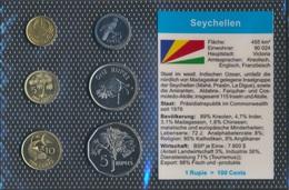 Seychellen Stgl./unzirkuliert Kursmünzen Stgl./unzirkuliert 2004-2007 1 Cent Bis 5 Rupees (9030229 - Seychellen