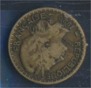 Togo 2 1925 Sehr Schön Aluminium-Bronze 1925 1 Franc Laureate (8977181 - Togo