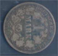 Deutsches Reich Jägernr: 9 1881 H Sehr Schön Silber 1881 1 Mark Kleiner Reichsadler (7849027 - [ 2] 1871-1918: Deutsches Kaiserreich