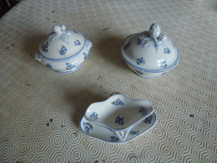 Elegante Dînette En Porcelaine - Céramiques