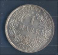 Deutsches Reich Jägernr: 17 1915 D Stgl./unzirkuliert Silber 1915 1 Mark Großer Reichsadler Im Eichen (7859333 - 1 Mark