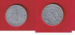 Allemagne -- 50 Reichspfennig 1941 J  --  état  TTB -- Km # 96  -  1 Griffure --rare - [ 4] 1933-1945 : Third Reich