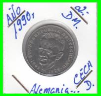 ALEMANIA -GERMANY - MONEDA DE  2.00 DM  AÑO 1990 - D -  KURT SCHUMACHER - [ 7] 1949-… : RFA - Rep. Fed. Alemana