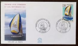FRANCE Yvert 2648 FDC, Enveloppe Premier Jour Cachet LORIENt - 1990-1999