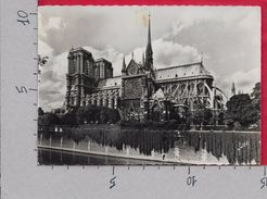 CARTOLINA VG FRANCIA - PARIS - Notre Dame - 10 X 15 - ANN. 1959 TASSATA - Notre Dame De Paris