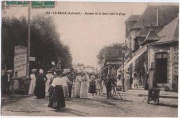 983 - LA BAULE (Loire-Inf.) - Avenue De La Gare Vers La Plage. - La Baule-Escoublac
