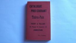 LIBRO CATALOGO FRANCESE TIMBRE POST IVERT TELLIER 1897 PERFETTO - Libri, Riviste, Fumetti