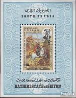 Aden - Kathiri State Block24A (kompl.Ausg.) Postfrisch 1968 Hl. Georg - United Arab Emirates (General)