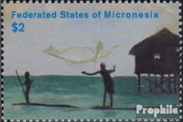 Mikronesien 1323 (kompl.Ausg.) Postfrisch 2002 Jahr Des Öko Tourismus - Micronesia