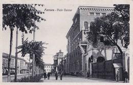 FERRARA -VIALE CAVOUR  - E - F/P - V: 1931 - ANIMATA - Ferrara