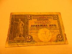 Greece Banknote 2 Drachmes 1917 - Grecia