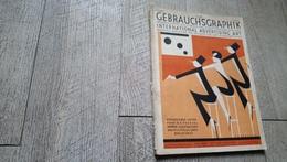 Revue Gebrauchsgraphik Juni 1928 Art Graphique International Advertising Art Frankenthal - Grafismo & Diseño