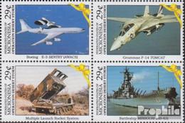 Mikronesien 219-222 Viererblock (kompl.Ausg.) Postfrisch 1991 Befreiung Kuweits - Mikronesien