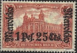 Dt. Post Marokko 55I A Postfrisch 1911 Aufdruckausgabe - Deutsche Post In Marokko
