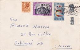 Brief Von Reggio Emilia Nach Delémont (br1823) - 6. 1946-.. Republic