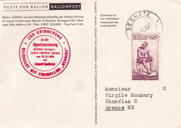 Ballonpost (br1826) - 1961-70: Marcophilia