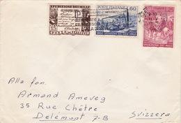 Brief Von Reggio Emilia Nach Delémont (br1833) - 6. 1946-.. Republic