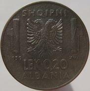 Albania 0.20 Lek 1939 - Albania