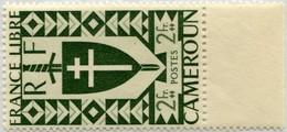 !!! PRIX FIXE : CAMEROUN, N°257a 2F VERT FONCE NEUF ** - Cameroun (1915-1959)