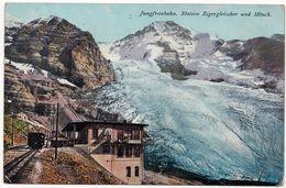 Jungfraubahn : Station Eigergletscher Und Mönch (Editeur Brennenstuhl, Meyringen, N°112) - BE Berne