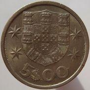 Portugal 5 $ 00 Escudos 1965 - Portugal