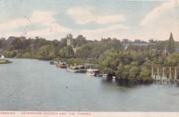 AP22 Reading, Caversham Church And The Thames - Reading