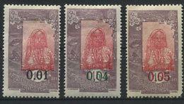 COTE FRANCAISE DES SOMALIS     N°  Y&T  108,  110  Et  111  * - Ungebraucht