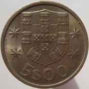 Portugal 5 $ 00 Escudos 1967 - Portugal