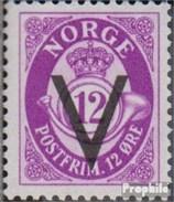 Norwegen 243Y Gestempelt 1941 Aufdruckausgabe - Gebraucht