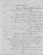 """Acte Papier Timbré Fiscal """"THREE PENCE MAURICIUS"""" 1873 Création Port-Louis (Ile Maurice) Atelier Cordonnier, Mag. Chauss - Historical Documents"""