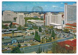 AFR-1072  SALISBURY : A View Of The Centre Of The City From The North Street - Zimbabwe