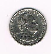 I   MONACO  1 FRANC  RAINIER III   1978 - Monaco