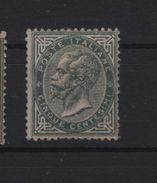 1863 DLR 5 Cent. MLH - 1861-78 Victor Emmanuel II.