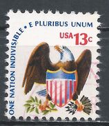 United States 1975. Scott #1596 (U) Eagle And Shield - Etats-Unis