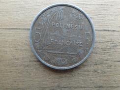 Polynesie Francaise  5  Francs  2001  Km 12 - French Polynesia