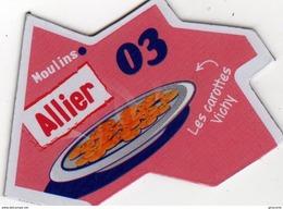 Magnets Magnet Le Gaulois Departement France 03 Allier - Tourism