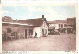 Cpa 37 Ligueil La Laiterie - Mettray
