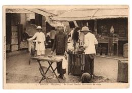 VIET NAM - HAIPHONG  Au Grand Marché, Marchands De Soupe - Viêt-Nam