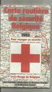 CARTE ROUTIèRE DE BELGIQUE - Wegenkaarten