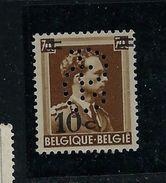 Léoplod III Col Ouvert N° 427  - état: **  Perforé: CB - 1934-51