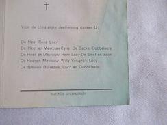 BIDPRENTJE ANAIS BORREZEE SLEIDINGE WAARSCHOOT FAM. DOBBELAERE - Religion & Esotérisme