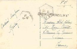 France 1937 Croiseur Moncalm Griffe Horizontal Ancre Hexagonal Djibouti Mosque Viewcard - Marcofilie (Brieven)