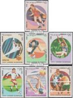 Nicaragua 2853-2859 (kompl.Ausg.) Postfrisch 1988 Olympische Sommerspiele, Seoul - Nicaragua