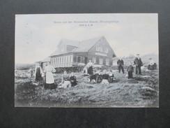 Österreich / Tschechien / Sudeten 1906 Gruss Von Der Wossecker Baude. Riesengebirge. 1260m. Franz Endler. - Sudeten