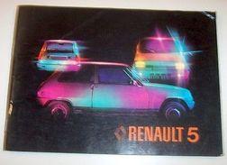 Libretto Uso Manutenzione Renault 5 1977 - Libri, Riviste, Fumetti