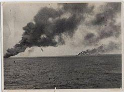 Foto Luce Tunisi Attacco Convoglio Navi Nemico '43 WWII - Photos
