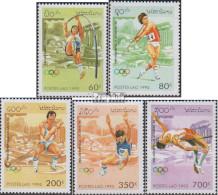 Laos 1455-1459 (kompl.Ausg.) Postfrisch 1995 Olympische Sommerspiele '96 - Laos