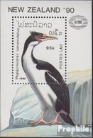 Laos Block134 (kompl.Ausg.) Postfrisch 1990 Vögel - Laos