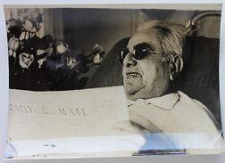 Fotografia D'epoca Sultano Aga Khan III A Cannes 1952 In Seguito All'infarto - Photographs