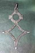 """Belle Médaille Argent 925 Poinçonné """"Croix D'Agadès - Croix Du Sud"""" - Ethniques"""